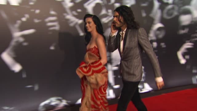 Katy Perry and Russell Brand at the 2010 Vanity Fair Oscar Party Hosted By Graydon Carter at West Hollywood CA