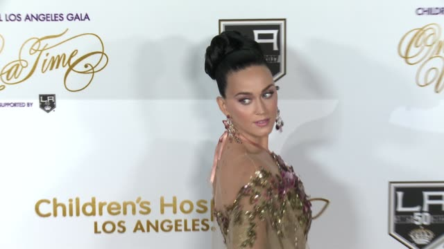 Katy Perry at 2016 Children's Hospital Los Angeles Once Upon a Time Gala in Los Angeles CA