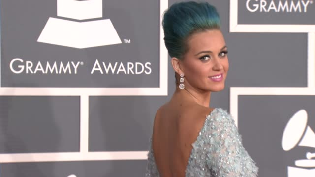 Katy Perry at 54th Annual GRAMMY Awards Arrivals on 2/12/12 in Los Angeles CA