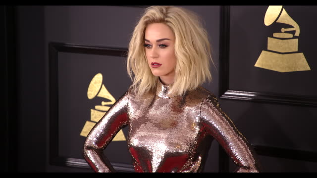 Katy Perry at 59th Annual Grammy Awards Arrivals at Staples Center on February 12 2017 in Los Angeles California 4K