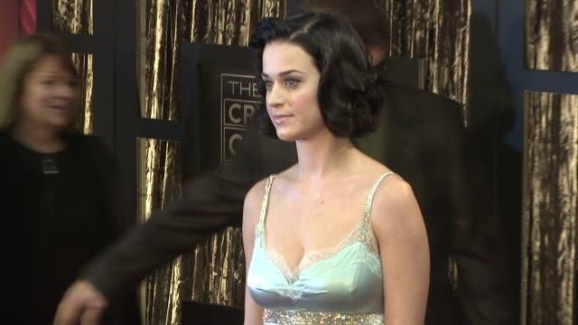 Katy Perry at the 14th Annual Critics' Choice Awards at Los Angeles CA