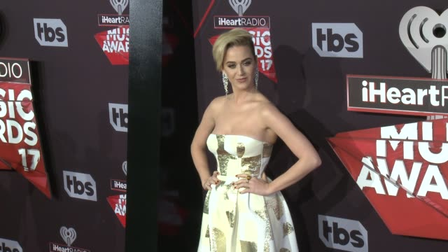 Katy Perry at the 2017 iHeartRadio Music Awards at The Forum on March 05 2017 in Inglewood California