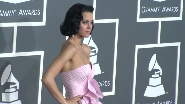 Katy Perry at the 51st Annual Grammy Awards Part 5 at Los Angeles CA