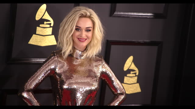 Katy Perry at the 59th Annual Grammy Awards Arrivals at Staples Center on February 12 2017 in Los Angeles California 4K
