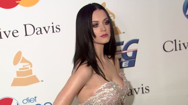 Katy Perry at the PreGRAMMY Gala Salute To Industry Icons With Clive Davis Honoring David Geffen at Beverly Hills CA