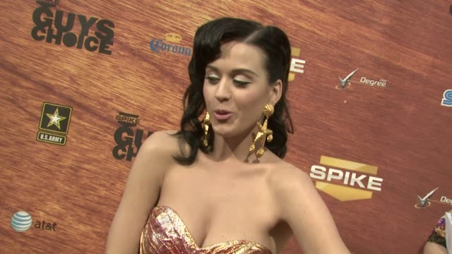 Katy Perry at the Spike TV's 2nd Annual Guys' Choice Awards at Sony Studios in Los Angeles California on May 31 2008