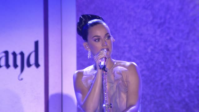 INTERVIEW Katy Perry on the event at 2016 Children's Hospital Los Angeles 'Once Upon a Time' Gala in Los Angeles CA
