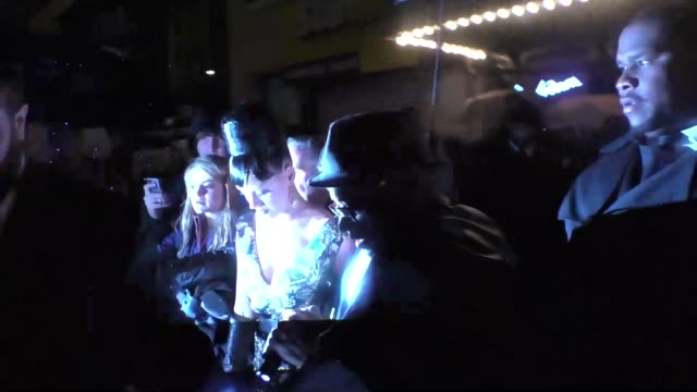 Katy Perry Orlando Bloom outside the Boom Boom Room Nightclub in New York in Celebrity Sightings in New York