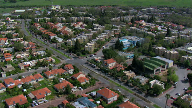 Katzrin, also spelt Qatzrin, Qasrin, or Kazerin, the administrative center and largest town in the Golan Heights, Israel