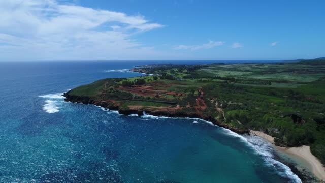 Kauai-Küste aus der Luft