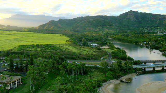 Kauai, Hawaii Scenic UAV Drone Shots