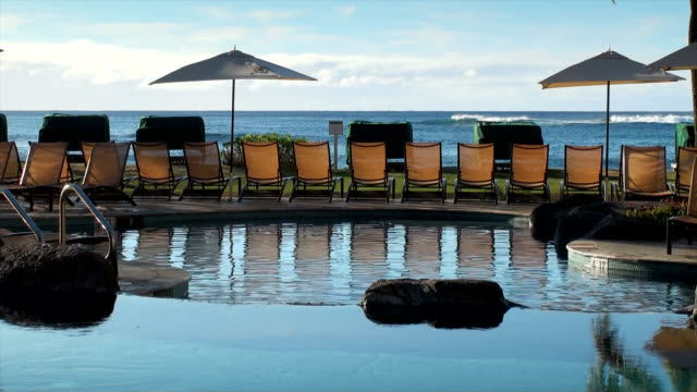 kauai swimming pool - spa treatment stock videos & royalty-free footage