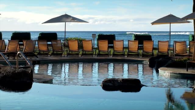 vidéos et rushes de piscine à kauai - thérapie du bien être