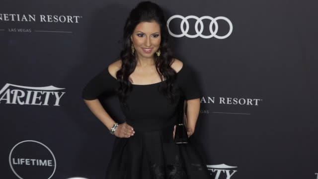 kavita shukla at the variety's power of women: los angeles at the beverly wilshire four seasons hotel on october 12, 2018 in beverly hills,... - フォーシーズンズホテル点の映像素材/bロール