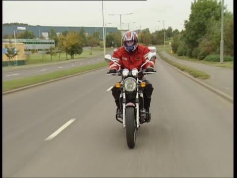 kawasaki er-5 - biker jacket stock videos and b-roll footage