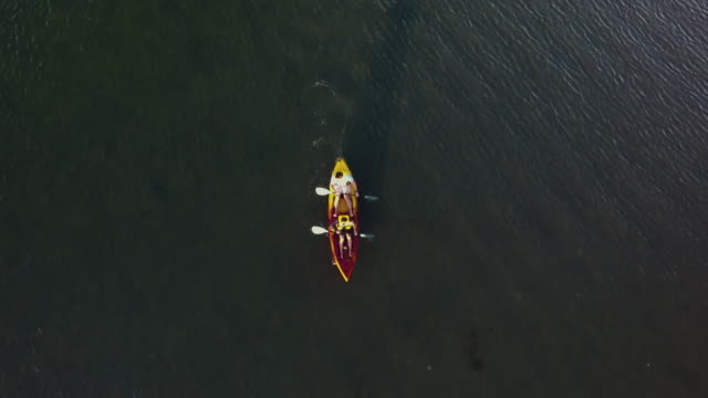 Kayak In Sea.