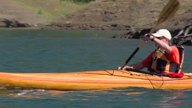 Kayak Paddlers Solo