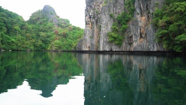 Kayaking to a beautiful Lagoon, Palawan, Philippines
