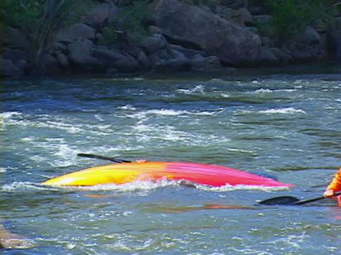 kayaking - protective sportswear stock videos & royalty-free footage