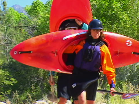 kayaking - three quarter length stock videos & royalty-free footage