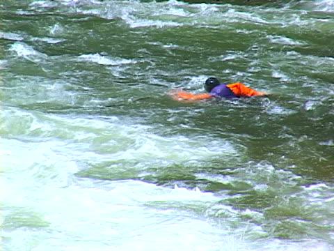kayaking - capsizing stock videos & royalty-free footage