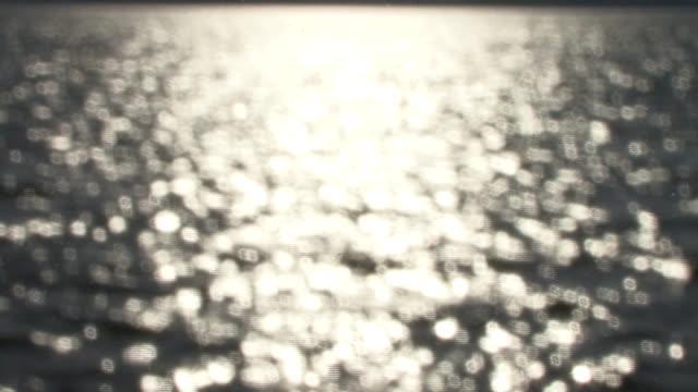 kayaking with sparkling waves on east bay - uppdämt vatten bildbanksvideor och videomaterial från bakom kulisserna