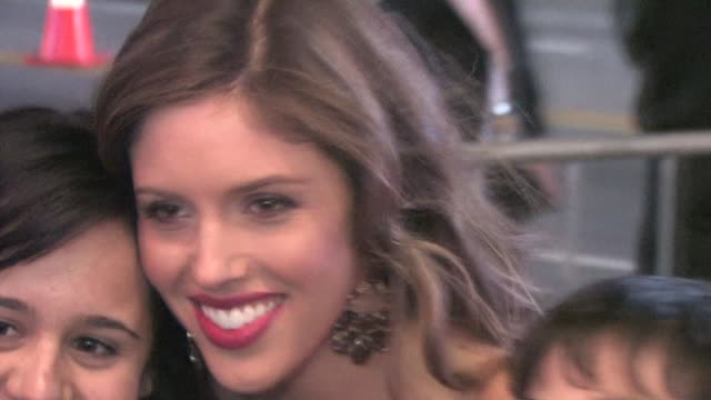 kayla ewell at el capitan theatre at the celebrity sightings in los angeles at los angeles ca. - el capitan theatre stock videos & royalty-free footage