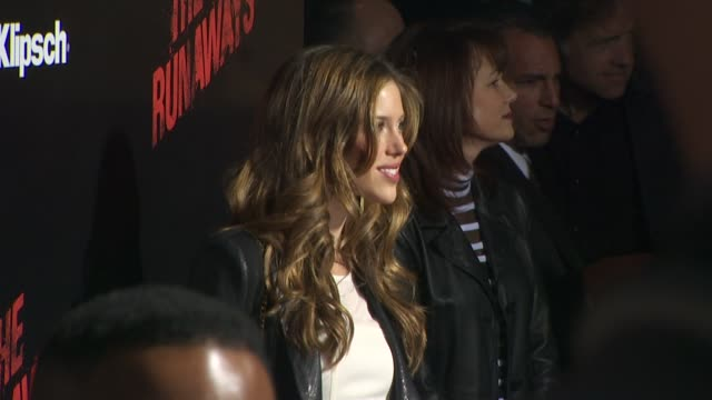 Kayla Ewell at the 'The Runaways' Premiere at Hollywood CA
