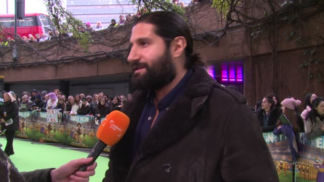 Kayvan Novak at BFI IMAX on January 14 2018 in London England