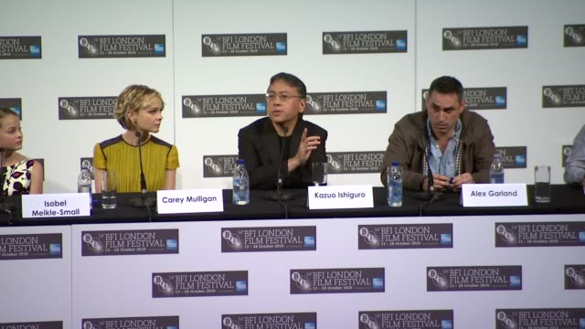 kazuo ishiguro on how the book is really about mortality, and what they do when time is running out, on accepting fate - kazuo ishiguro stock videos & royalty-free footage