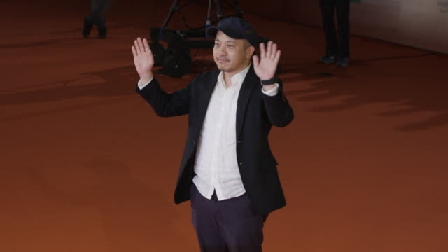 kazuya shiraishi at trouble no more red carpet 12th rome film fest on november 02 2017 in rome italy - rome film fest stock videos and b-roll footage