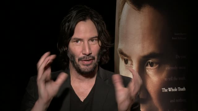 """keanu reeves and courtney hunt """"the whole truth"""" los angeles junket on october 17, 2016 in los angeles, california. - keanu reeves stock videos & royalty-free footage"""