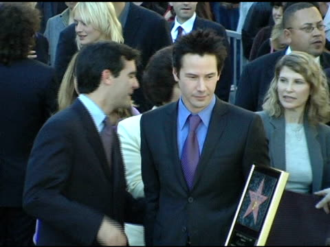 keanu reeves and eric garcetti, councilman 13th district at the keanu reeves honored with a star on the hollywood walk of fame at hollywood &... - keanu reeves stock videos & royalty-free footage