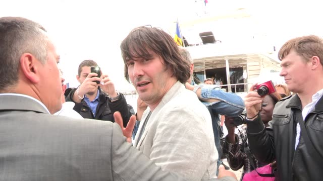 keanu reeves at celebrity video sightings on may 19, 2013 in cannes, france - keanu reeves stock videos & royalty-free footage