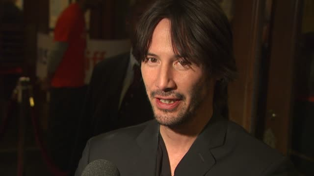 keanu reeves at the 2010 toronto international film festival - 'henry's crime' at toronto on. - keanu reeves stock videos & royalty-free footage