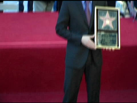 keanu reeves at the keanu reeves honored with a star on the hollywood walk of fame at hollywood & highland shopping center in hollywood, california... - keanu reeves stock videos & royalty-free footage