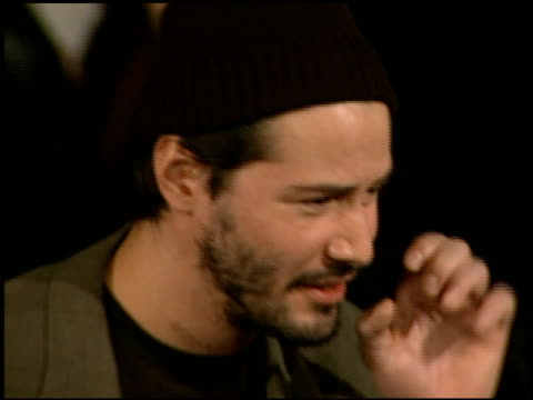 Keanu Reeves at the Premiere of 'The Devil's Advocate' at the Mann Village Theatre in Westwood California on October 13 1997