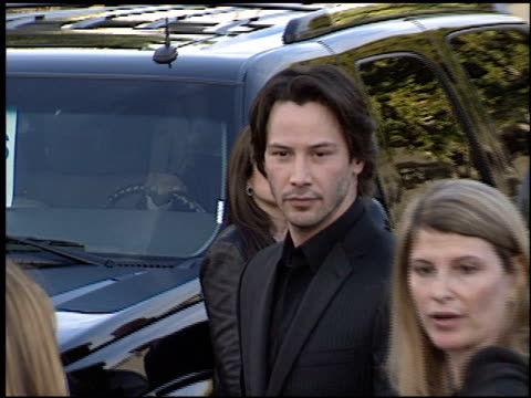 keanu reeves at the premiere of 'the matrix reloaded' on may 7, 2003. - keanu reeves stock videos & royalty-free footage
