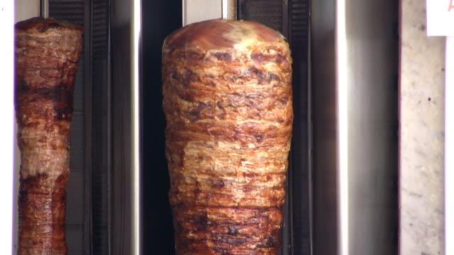 kebab (hd) - kebab stock videos and b-roll footage