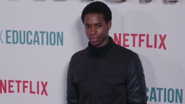 kedar williamsstirling at sex education season 2 world premiere at genesis cinema on january 06 2020 in london england - sex education stock videos & royalty-free footage