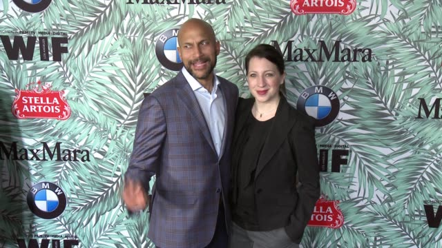 keegan-michael key and guest at 10th annual women in film pre-oscar cocktail party presented by max mara and bmw at nightingale plaza on february 24,... - nightingale stock videos & royalty-free footage
