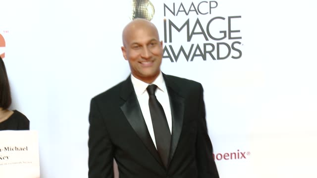 stockvideo's en b-roll-footage met keeganmichael key at the 46th annual naacp image awards arrivals at pasadena civic auditorium on february 06 2015 in pasadena california - pasadena civic auditorium