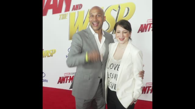 KeeganMichael Key at the 'AntMan and the Wasp' World Premiere