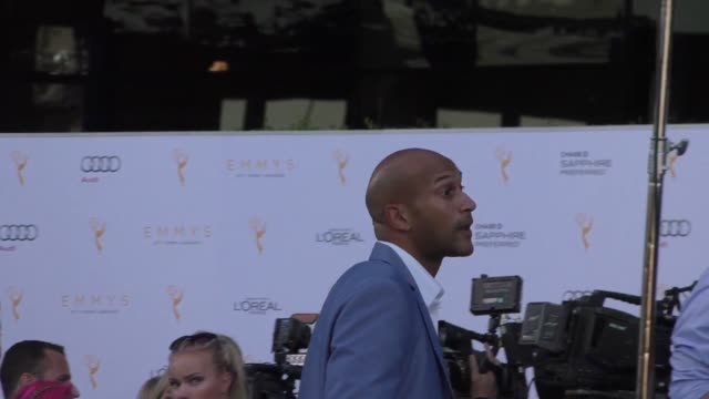 keeganmichael key at the television academy celebrates the 67th emmy award nominees for outstanding performances at montage beverly hills at... - montage beverly hills video stock e b–roll