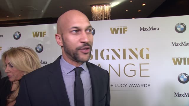 INTERVIEW KeeganMichael Key on why it was important for him to support WIF what can be done to create a world where women are equally represented in...
