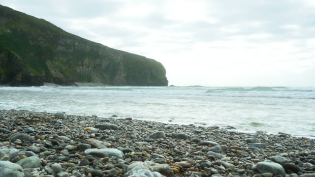 Keel Beach And Dooega Head On Achill Island In Ireland