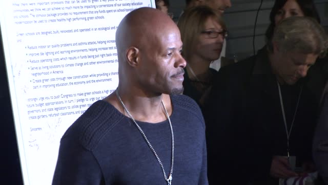 keenen ivory wayans at the global green usa's 6th annual preoscar party benefiting green schools at los angeles ca - pre party stock videos and b-roll footage