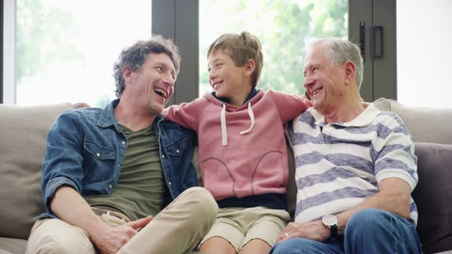 keep the family link strong - grandfather stock videos & royalty-free footage
