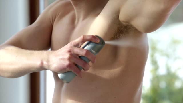 vídeos y material grabado en eventos de stock de mantener fresco - desodorante