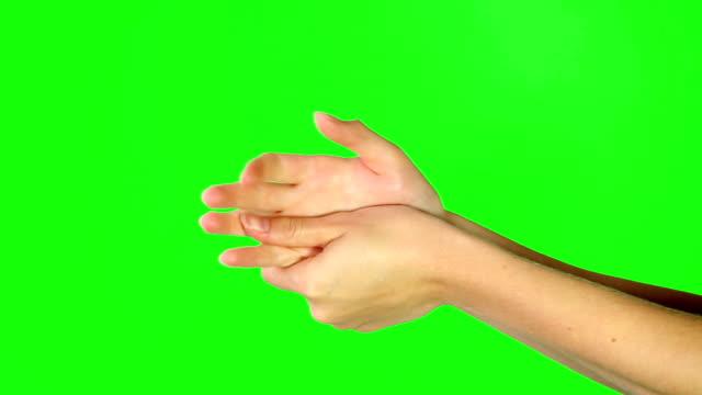 vídeos y material grabado en eventos de stock de mantener las manos suaves - lavar